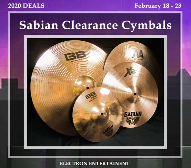 Cymbal Clearance Sale at Electron