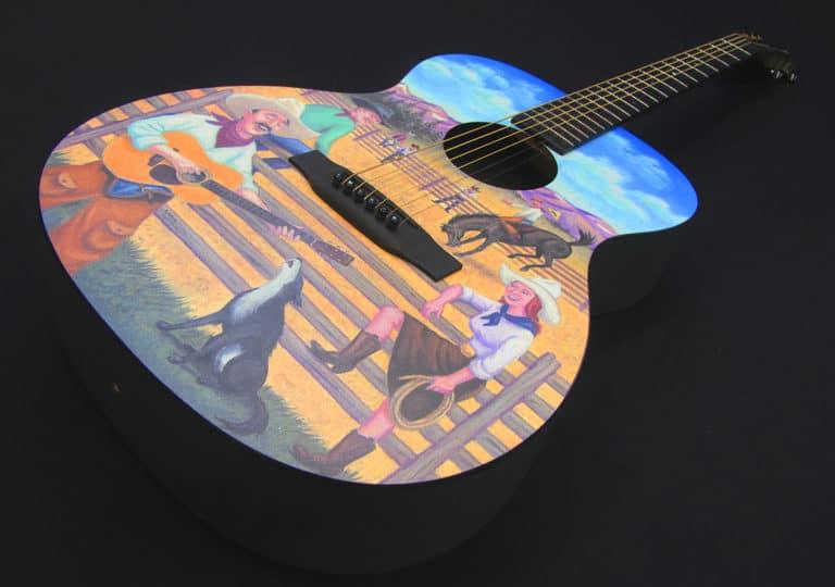 Martin SE Cowboy Guitar