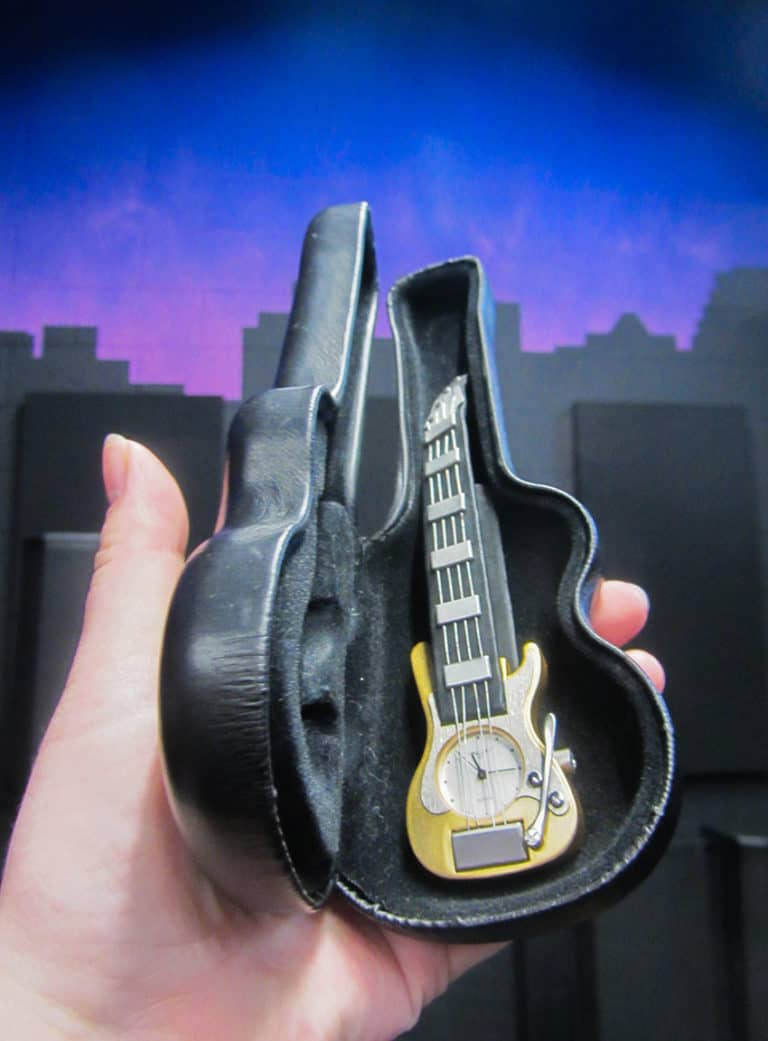The Tiniest Guitar Inside the Tiniest Case