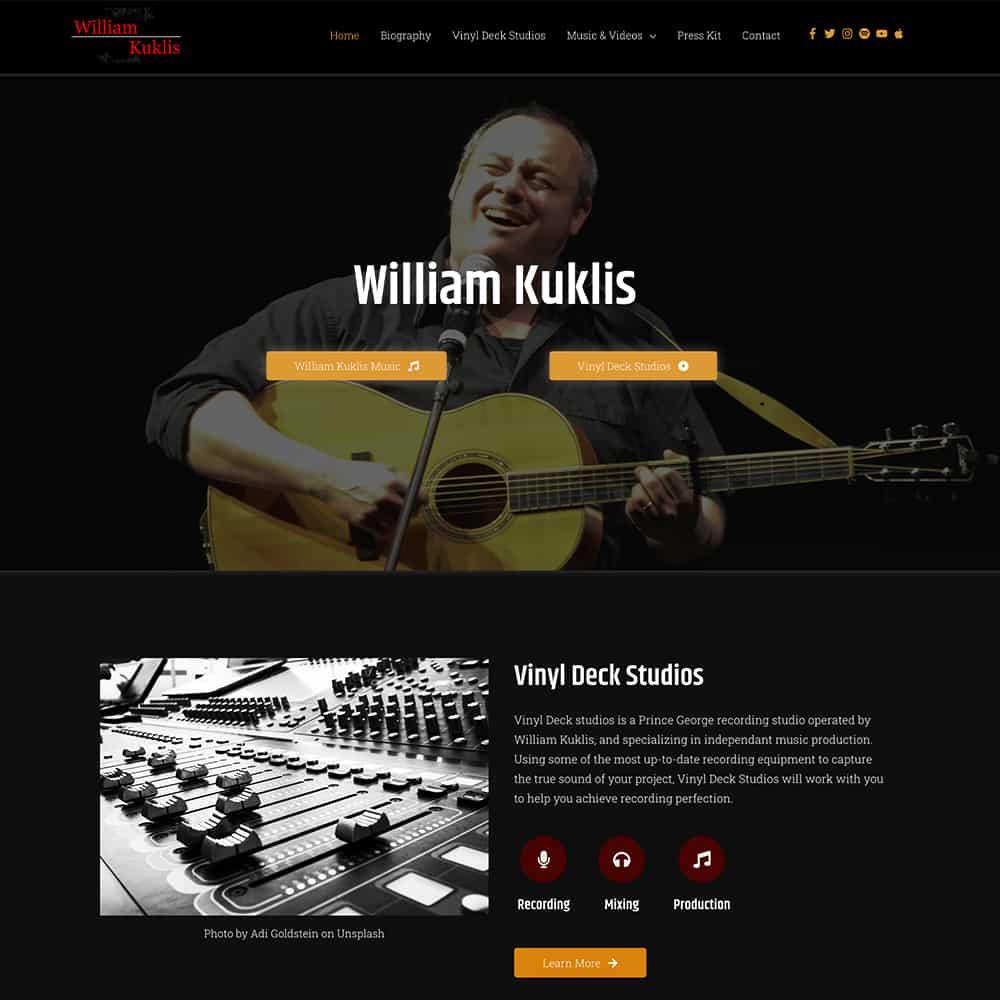 William kuklis website